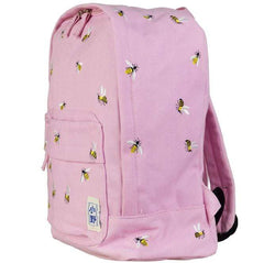 BEE EMBROIDERY BACKPACK