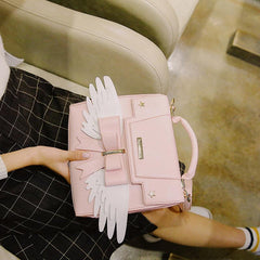 KAWAII WINGS PU BAG