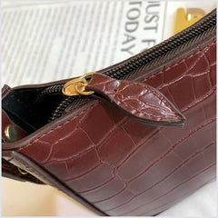 CROCODILE PATTERN HANDBAG