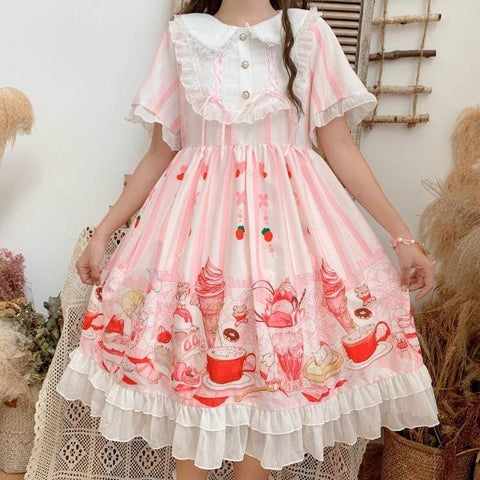 TEA TIME LOLITA DRESS