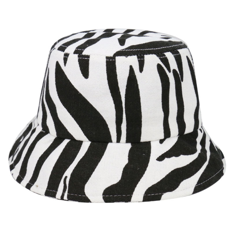 ZEBRA BUCKET HAT