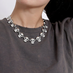 PUNK SKULL NECKLACE