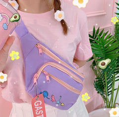 CUTE DINOSAUR BELT BAG