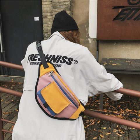 HIP-HOP WATERPROOF BAG