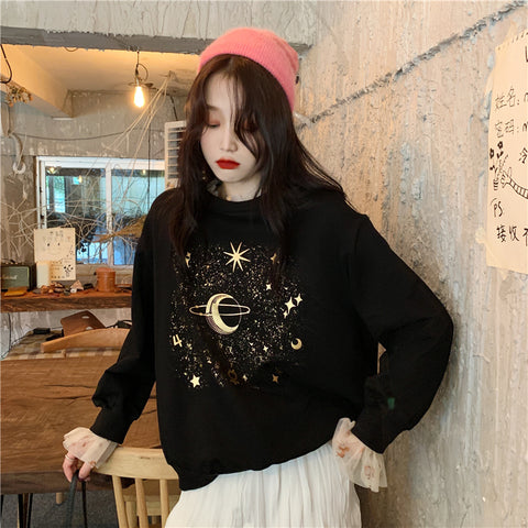 SHINING STAR SKY PULLOVER SWEATER