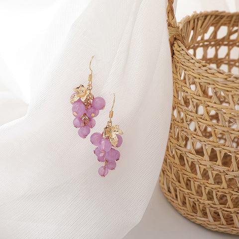 SWEET GRAPE EARRINGS