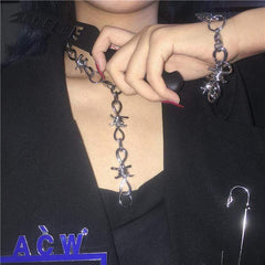 HIP HOP PUNK NECKLACE/BRACELET