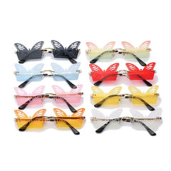 HOLLOW BUTTERFLY SUNGLASSES