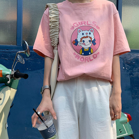 GIRLS WORLD TEE