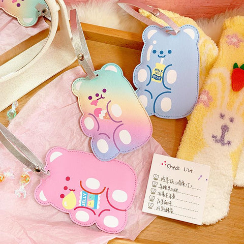 KAWAII BEAR CARD HOLDER