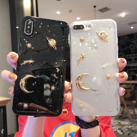 EPOXY STARRY SKY IPHONE CASE (I6-I12 PRO MAX)