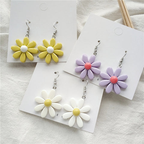 FRESH FLOWER TEMPERAMENT EARRINGS