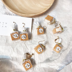 BREAD LOAF EARRINGS