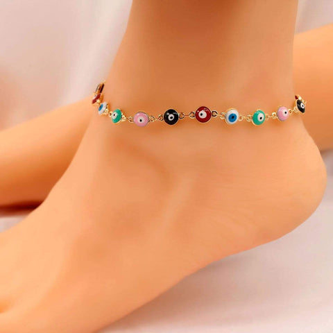 EYES ANKLET (2pcs)