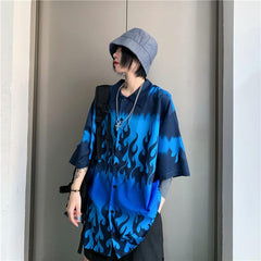 BLUE FLAME SHIRT