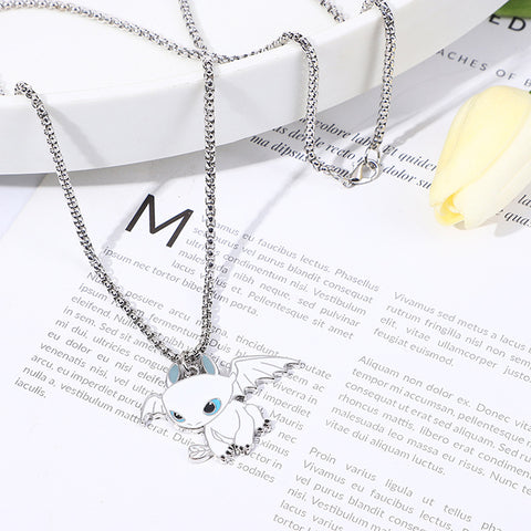 TOOTHLESS PENDANT NECKLACE
