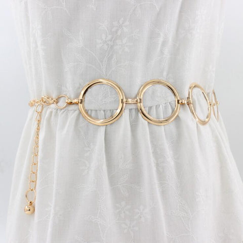 RING CHAIN WAIST BELT
