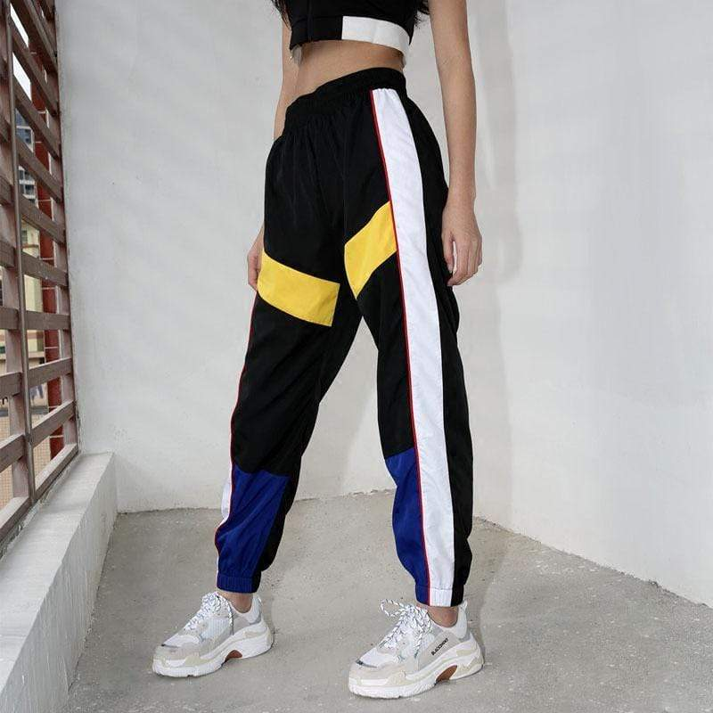 ERMA PATCHWORK PANTS
