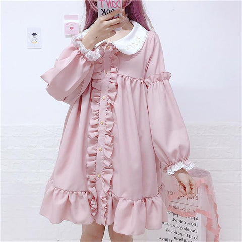 LOLITA LACE VINTAGE DOLL DRESS