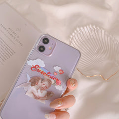 SWEETIE ANGEL IPHONE CASE (I7-I12 PRO MAX)