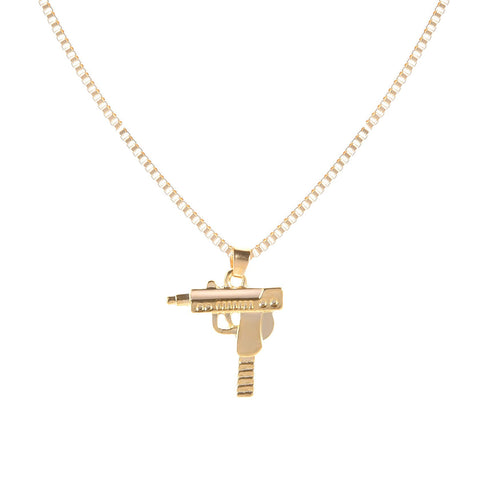 MACHINE GUN NECKLACE
