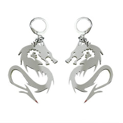 DRAGON MINI HOOP EARRINGS