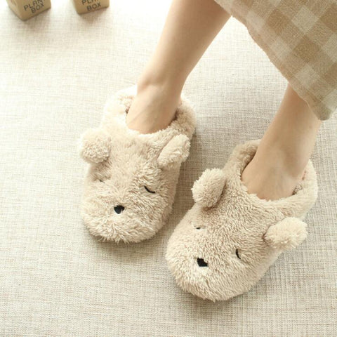 CARTOON BEAR LOAFERS (5.5-8)