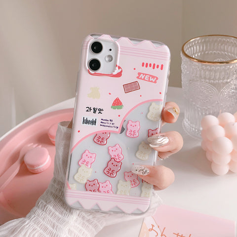 KOREAN GUMMY BEAR IPHONE CASE