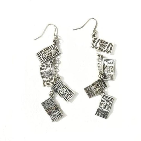 VINTAGE DOLLAR EARRINGS