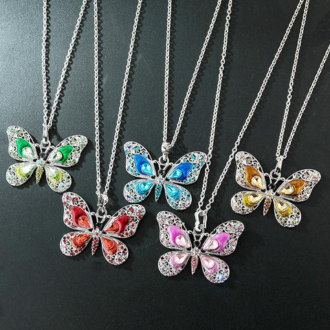 FAIRIES CHARM BUTTERFLY NECKLACE