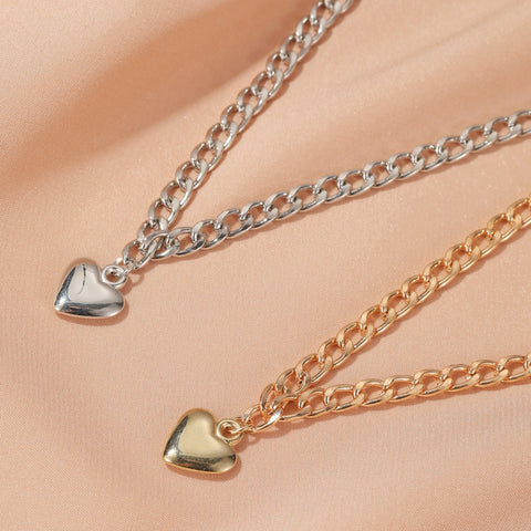 LOVE THICK CHAIN NECKLACE