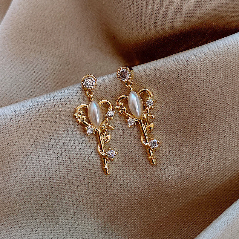 ANGELIC KEY EARRINGS