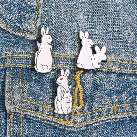 RABBIT PINS (SET/3PCS)