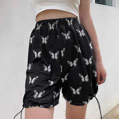 BUTTERFLY DRAWSTRING SHORTS