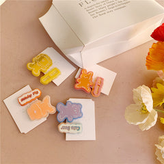 CUTE ANIMAL HAIR CLIP (8 PCS)