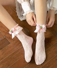 LOLITA STRAWBERRY LACE SOCKS
