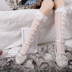 LOLITA BOW LACE STOCKINGS