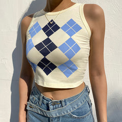 DIAMOND TANK TOP