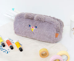 PO PO SQUARE PLUSH PENCIL CASE