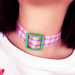 VINTAGE LATTICE CHOKER