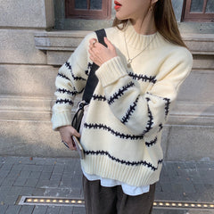 LAZY LOOSE PULLOVER SWEATER