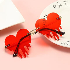 HEART DROP SUNGLASSES