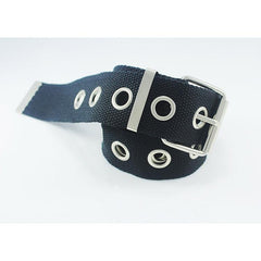 OPENWORK CANVAS BELT