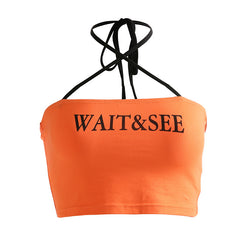 WAIT&SEE CROSS HALTER VEST