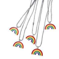 RAINBOW NECKLACE (2 PCS)