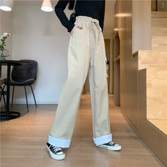 LARGE POCKET CASUAL CARGO PANTS