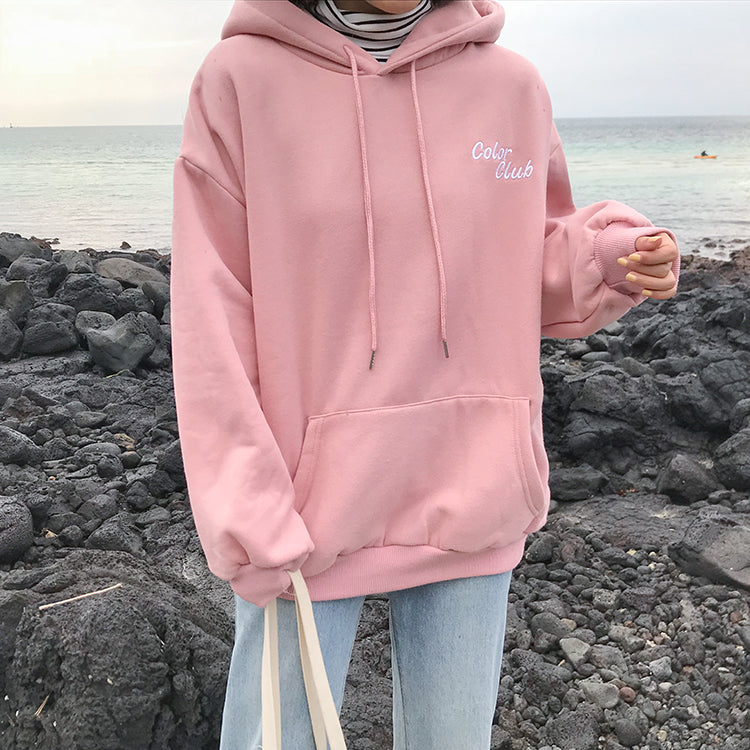 CANDY COLOR CLUB HOODIE