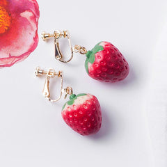 SUMMER CUTE STRAWBERRY EARRINGS