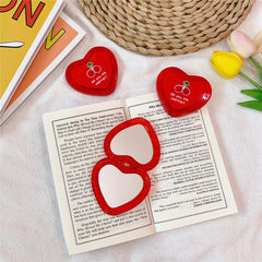 CHERRY HEART MINI MIRROR