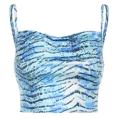 BLUE TIGER CAMISOLE